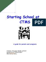 Starting School at CTMS