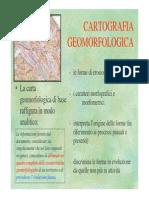 3) Cartografia Geomorfologica Teoria
