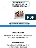 Aproximacion Historica Psicoterapia Grupo