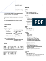 Contrastive Linguistics Spanish- English Handout 3