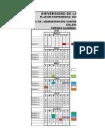 Cronograma MARZO - AGOSTO 2015-Final