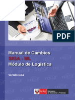 Manual Cambios SIGA