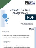 Aula 01 - Dinamica Das Máquinas - Fatec