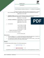 Matematica (Unidad 1 -UBA XXI-2010)