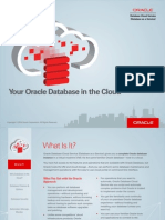 Oracle Database Cloud Service(1)