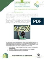 El Proceso Creativo en La Generación de Ideas Empresariales (1)