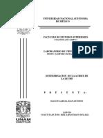 Informe Determinacion de La Acidez de La Leche