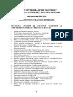 Teme Disertatie Si Bibliografie[1] 2009-2010