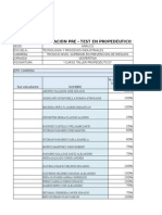 Vaciado Pre Test Propedéutico 2015 TPR