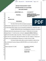 CLRB Hanson Industries, LLC et al v. Google Inc. - Document No. 10