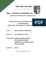 PROYECTO DE AGUA INSTALACIONES SANITARIAS.doc