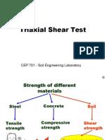 Triaxial test