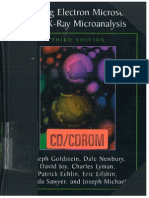 181981738 Scanning Electron Microscopy and x Ray Microanalysis Joseph Goldstein PDF