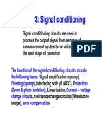 Eee 436 Signal Conditioning 1