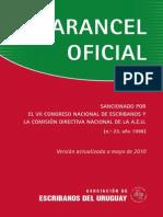 Arancel Oficial Uruguay