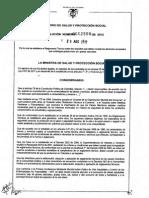 Reso 2508 de 2012 - Rotulados Grasas