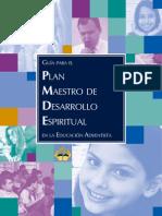Plan Maestro de Desarrollo Espiritual Manual