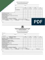 Ficha de Avaliação de Leitura Modelo