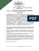 Resolución de Apertura Invitación Publica 01 de 2015