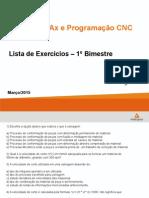 CNC - Lista de Exercicios1