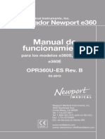 Manual Usuario newport  E360
