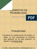 Elementos de Probabilidad