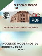 Procesos Modernos de Manufactura