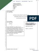 Zheng v. Chertoff et al - Document No. 15