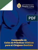 Compendio de Guías de Prácticas Clínicas para el Cirujano - Dentista
