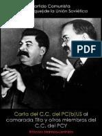 Partido Comunista (bolchevique) de la Unión Soviética; Carta del CC del PC (b) US al CC del PCY, 27 de marzo de 1948.pdf