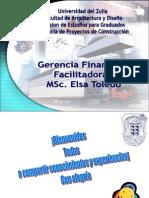 Gerencia Financiera Primera Clase