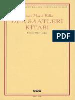 Rainer Maria Rilke - Dua Saatleri Kitabı (ClearScan)