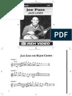 Joe Pass - Jazz Lines