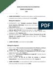 Cronograma de Historia Política Argentina i