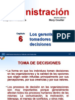 GERENTE TOMADOR DECISIONES