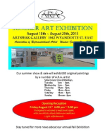 summer ara exhibit 2015