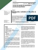 NBR 9000-3 - Gestao Da Qualidade Aplicacao Da NBR 19001
