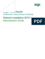 Sfa 20151 Network Installation Guide
