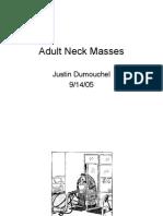 Adult Neck Masses