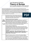 classroom management - theory of bumps