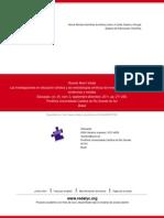 Las Investigaciones en Educación Artística y Las Metodologías Artísticas de Investigación en Educaci