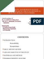 STUDY OF  ANTIDIABETIC DRUG GLYBURIDE