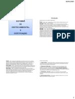 SGA- Sistema de gerenciamento Ambiental