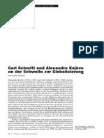 Tihanov Carl Schmitt Und a. K.