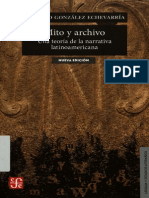 Mito y Archivo R G Echevarria