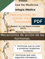 Mecanismos de Accion de Las Hormonas