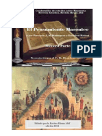 El Pensamiento Masonico. Tercera parte