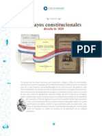 ensayos constitucionales