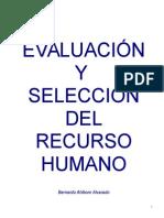 Evaluacion y Seleccion Del Recurso Humano (1)