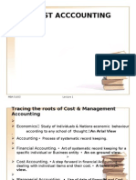 Cost Acconting Lectures